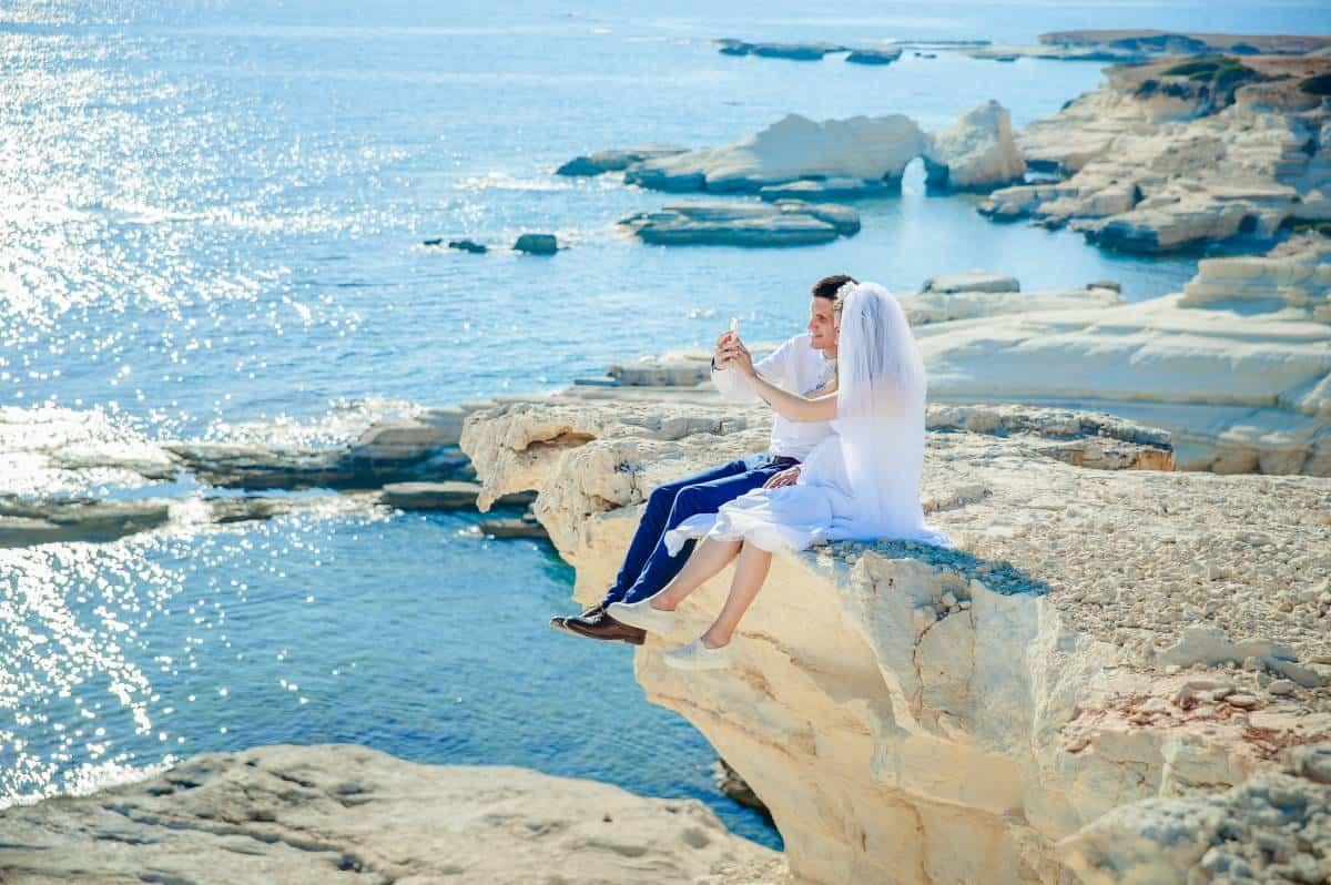 podróż poślubna pary młodej