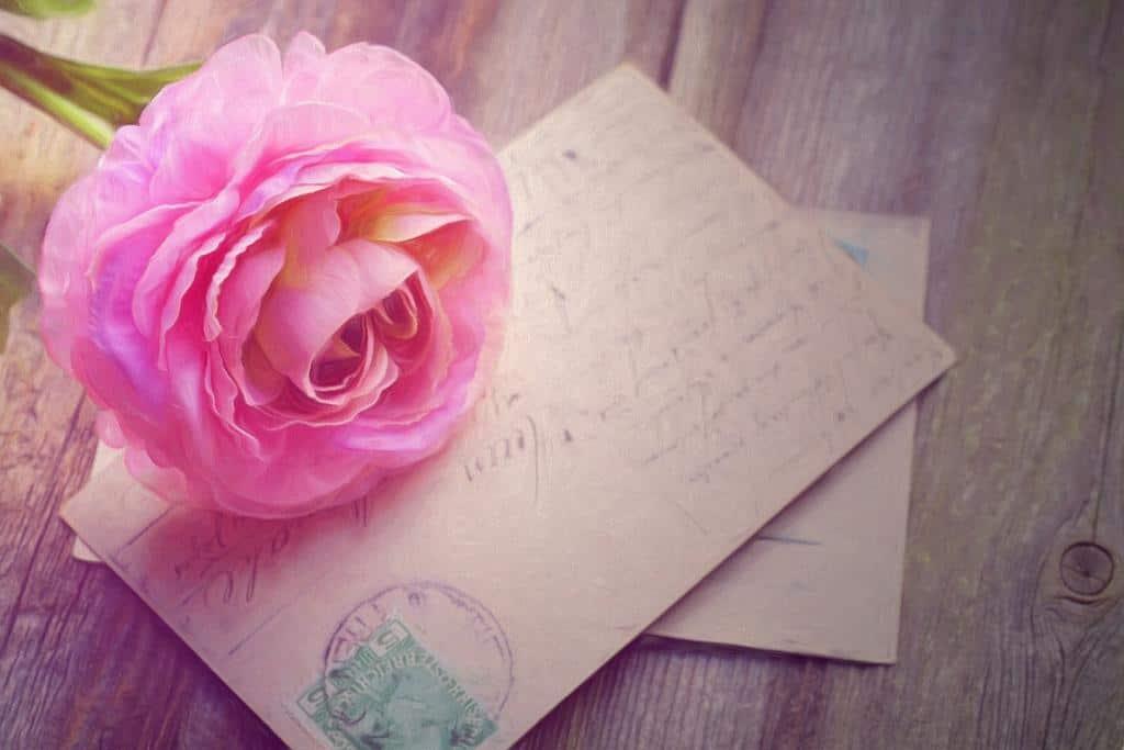 zaproszenia ślubne w formie kartki pocztowej