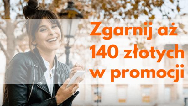 Zgarnij 140 złotych w promocji od ING Bank Śląski