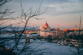 Piękny widok na Budapeszt