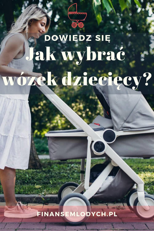 Grafika Pinterest - Jak wybrać wózek dziecięcy